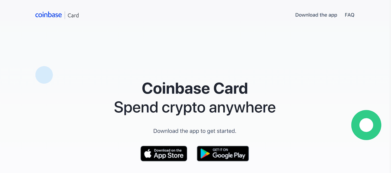 Coinbase Card Website _1