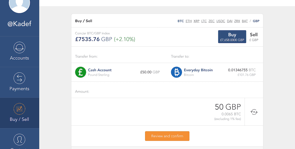 CoinJar Review (Buy Bitcoin With GBP _1)